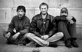 Trois SDF bruxellois