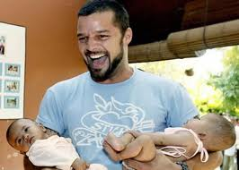 Ricky Martin, défenseur de la GPA