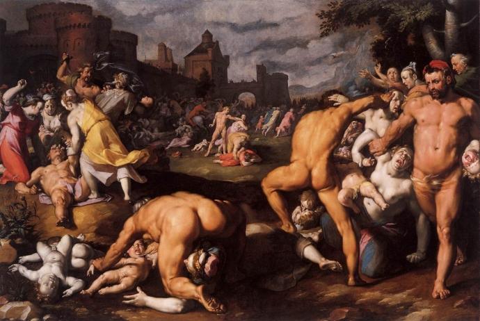 Cornelis van Haarlem, De Kindermoord te Bethlehem (1590), Rijksmuseum, A'dam