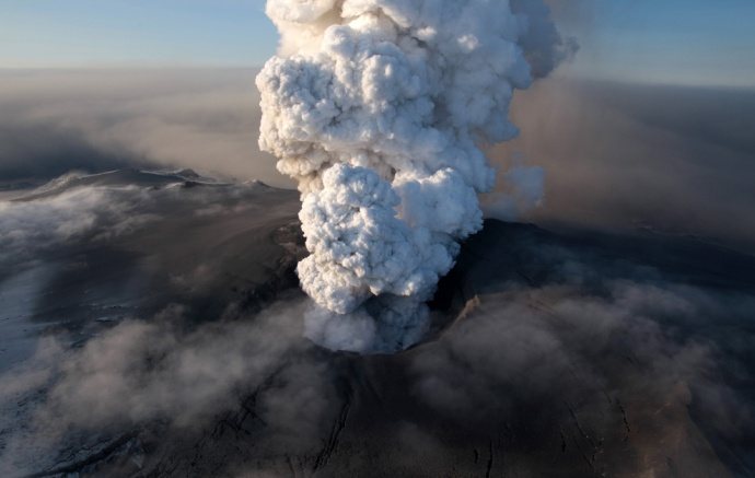Eruption du volcan islandais Eyjafjallajokull, 2010