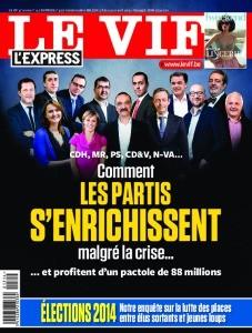 couverture de Le Vif L'Express de cette semaine