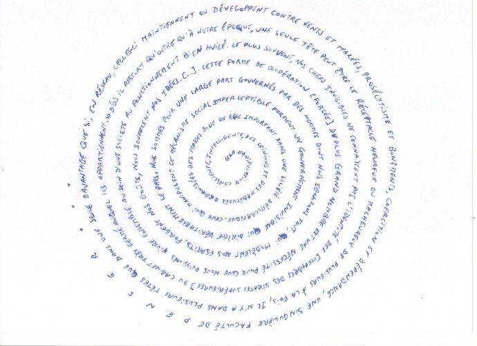 Spirale littérale