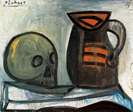 Picasso, Nature morte au crâne et au pichet (1943)