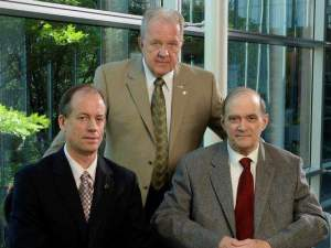 Thomas Drake, J Kirk Wiebe & William Binney