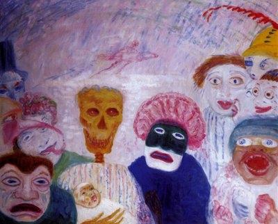 Ensor, La mort et les masques (1927)