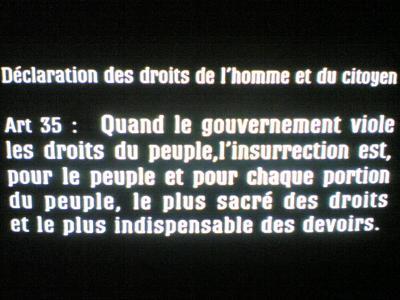 Article 35 de la DDHC de 1793