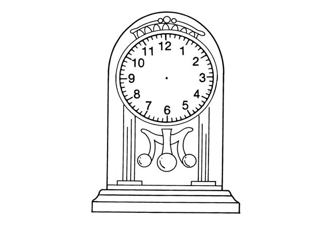 Horloge de l'infini