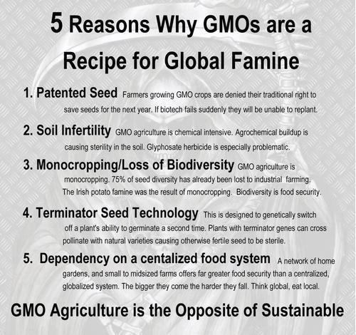 OGM = fascisme alimentaire