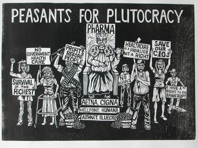 Peasants for plutocracy (by Michael Dal Cerro)