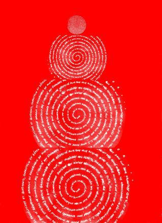 Caisse (collage littéral spiralé, 06-04-14) - VERS 1