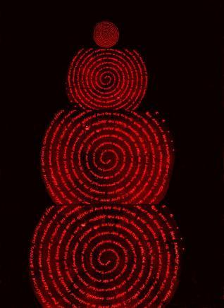 Caisse (collage littéral spiralé, 06-04-14) - VERS 2