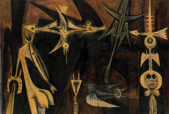 Wilfredo Lam, La Réunion (1945)