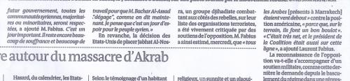 Le Monde, 14 décembre 2012