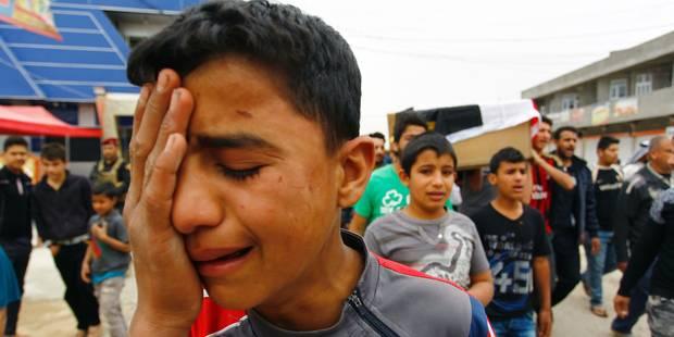 Enfants rescapés d'al-Asriya, 25 mars 2016